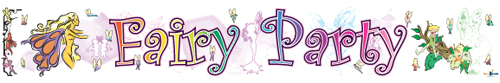 Fairy Party Banners