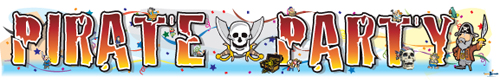 Pirate Party Banners