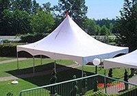 20 x 20 Square High Peak Tents