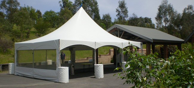 White Garden Marquee for Family Parties