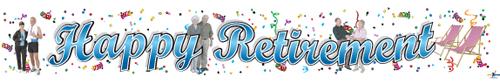 Happy Retirement Banners