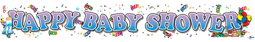 Happy Baby Shower Banners