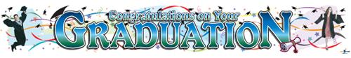 Congratulations Graduation Banners