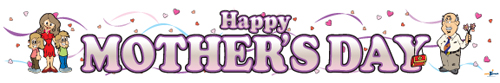 Happy Mothers Day Banners