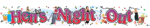 Hens Night Out Banners
