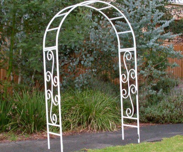 White Wedding Arch Hire