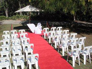 wedding marquee Wooden