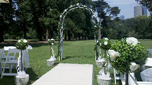 Wedding Garden Reception