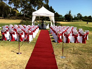 Wedding Marquee Ceremony