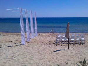 Wedding Marquee Beach