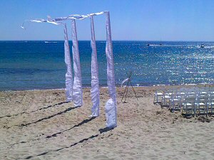 Beach Wedding Hire