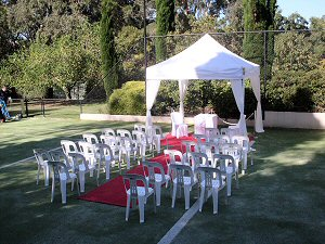Ceremony Marquee Hire