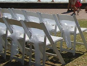 Marquee Receptions chair