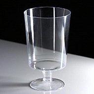 glass wine short