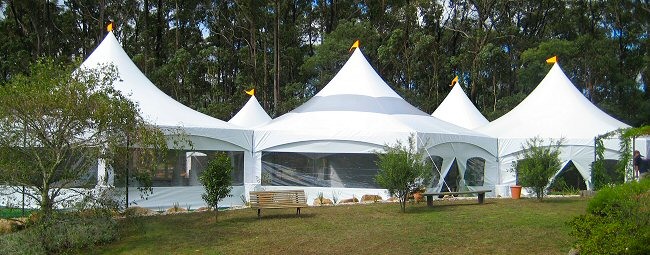 32mt x 12mt Hex Combination Wedding
