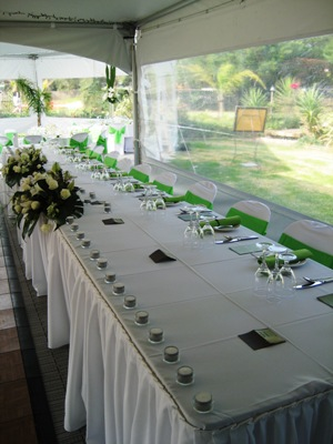 Wedding Marquees Corporate Hex