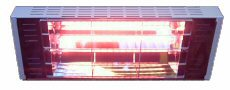 infrared heater white