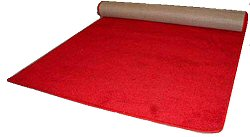 plush red carpet