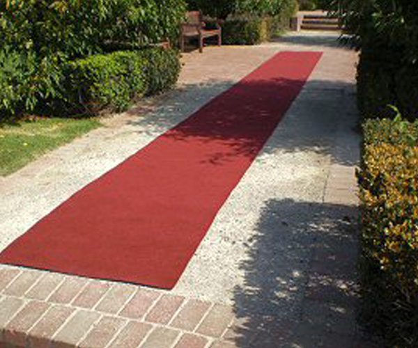 standard red carpet