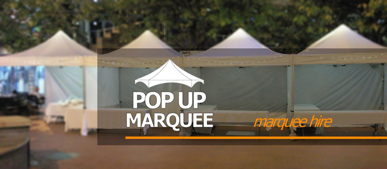 Pop-Up-Marquee