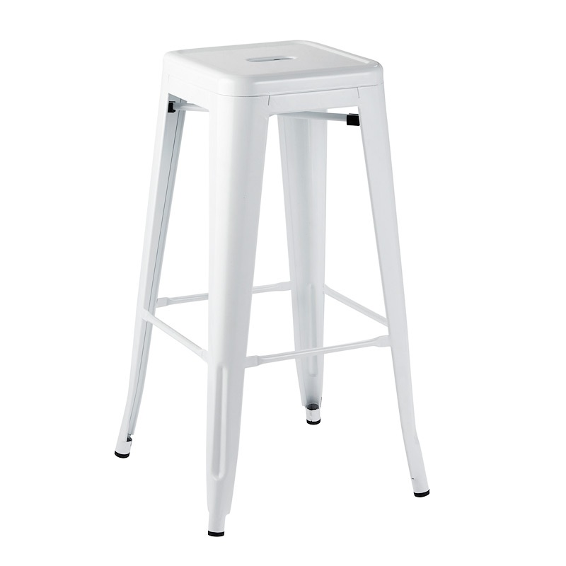 tolix bar stool white having a party