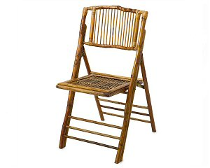 Bamboo Folding Chair Hire