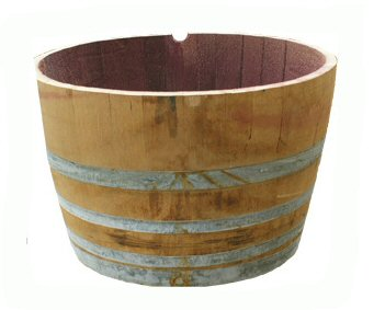 Half Wine Barrel Hire