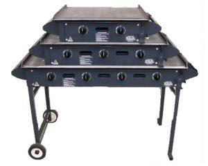 Hot Plate BBQ 4 Burner Hire