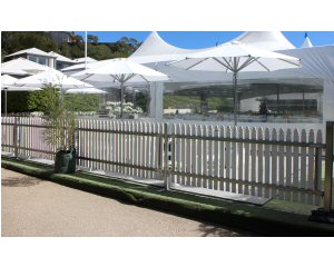 White Pickett Fencing Hire